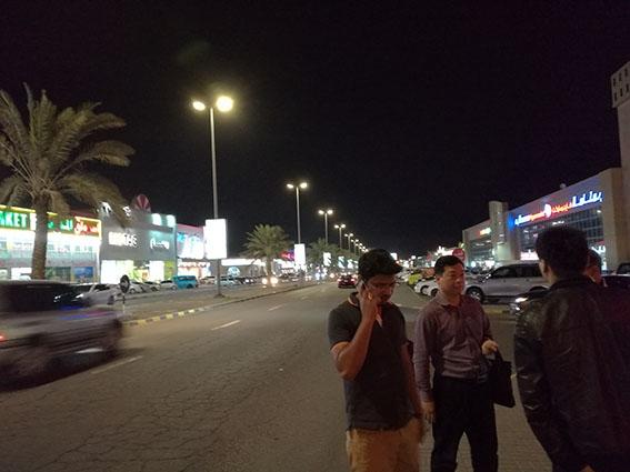 迪拜路灯工程项目