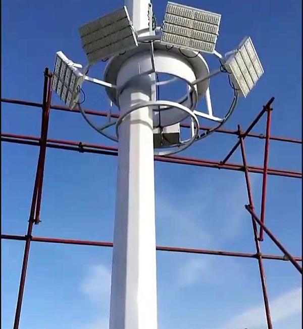 内蒙古体育馆高杆灯