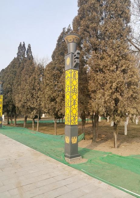 大武口公园景观灯案例