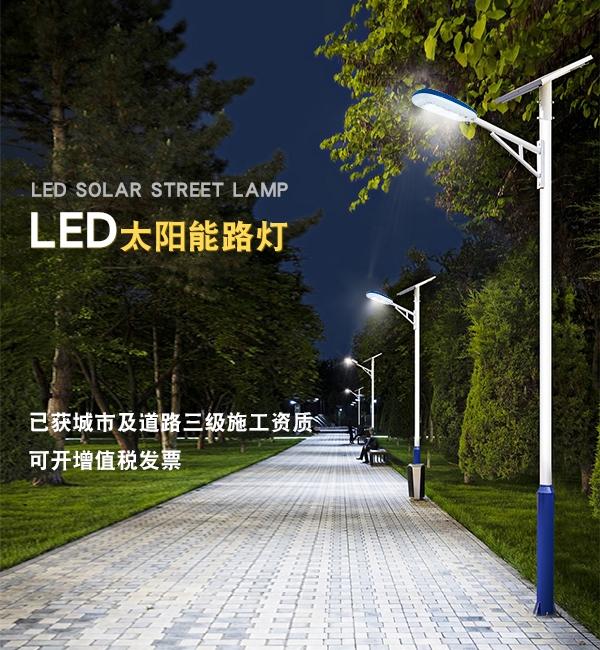 海外国家LED太阳能路灯