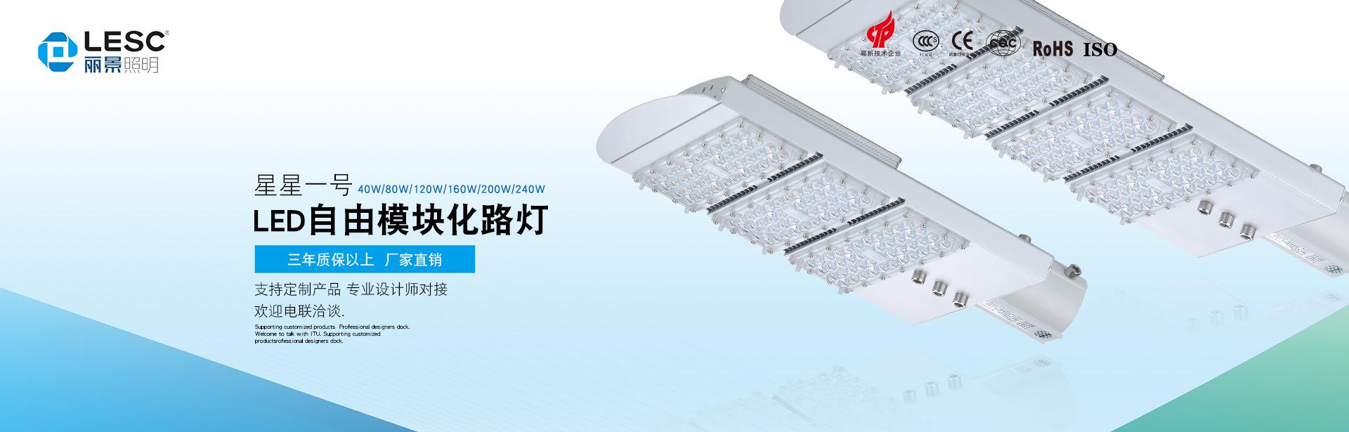 LED自由模块式路灯